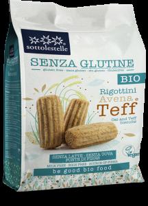 RIGOTTINI AVENA E TEFF BIO Senza Glutine