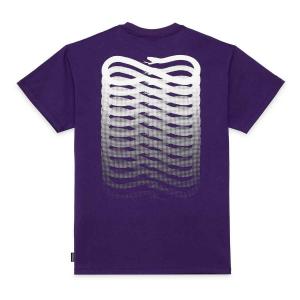 T-Shirt Propaganda Ribs Purple