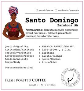 Santo Domingo Barahona AA  -  250gr