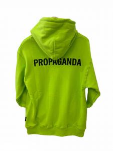 Felpa Propaganda Logo Hoodie Light-Green