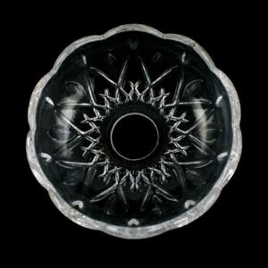 Bobeche lampadari Vetro veneziano Ø 10 cm, foro Ø24 mm, NO fori laterali