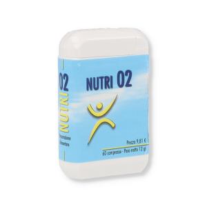 NUTRI 02 INTEGRATORE 60 COMPRESSE