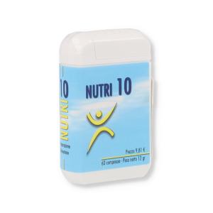 NUTRI 10 INTEGRATORE 60 COMRPESSE