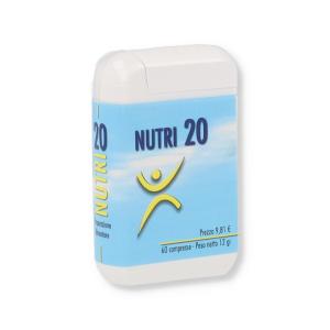 NUTRI 20 INTEGRATORE 60 COMPRESSE