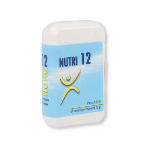 NUTRI 12 INTEGRATORE 60 COMPRESSE