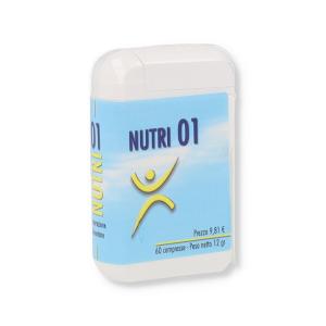 NUTRI 01 INTEGRATORE 60 COMPRESSE