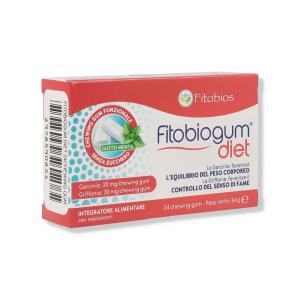 FITOBIOGUM DIET 24 CHEWING GUM