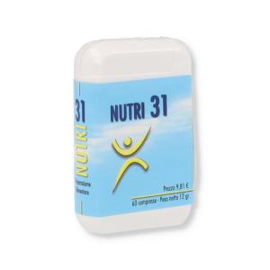 NUTRI 31 INTEGRATORE 60 COMPRESSE