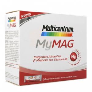 MULTICENTRUM MYMAG - INTEGRATORE A BASE DI MAGNESIO E VITAMINA B6