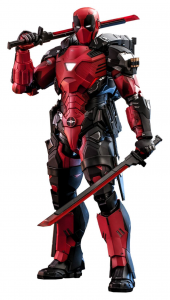 *PREORDER* Marvel Comic Masterpiece: ARMORIZED DEADPOOL 1/6 by Hot Toys