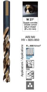 Serie punte per ferro professionali Speedmaster HSS-G mm 1-13 Krino 01229302
