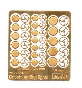 British landing lights