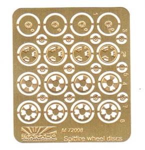 Spitfire wheel discs