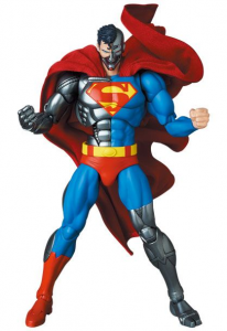 *PREORDER* The Return of Superman MAF EX: CYBORG SUPERMAN by Medicom Toy
