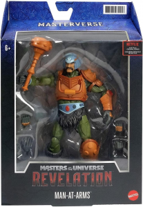 *PREODER* Masters of the Universe: Revelation Masterverse: MAN AT ARMS by Mattel