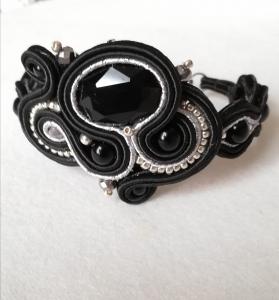 Hand sewn bracelet