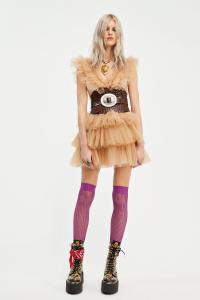Abito Rouches Tull Dress Aniye By