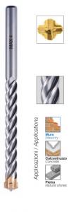 Serie 7 punte per edilizia rotobattenti Max 4 ad elevato rendimento Krino 03073203