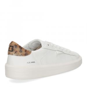 D.A.T.E. Ace animalier white leopard-5