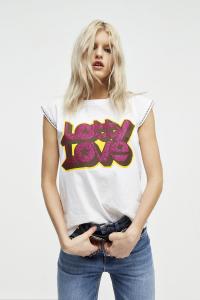 T-shirt Lotty bianca Aniye By