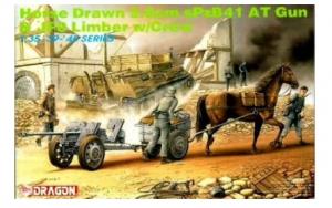 Horse Drawn 2.8cm SPzB41 AT Gun & JF8 Limber