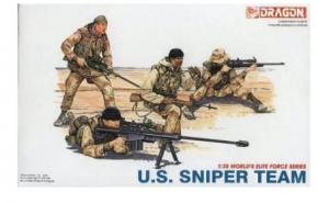 Modern U.S. Sniper Team