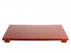BERTOLI Tagliere plastica marrone con batterie 60x40x2 Utensili da cucina
