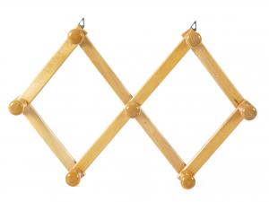 PANETTA Portabiti legno estensibile 7 ps Contenitori e sistemazione armadio