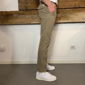 Pantalone Department 5 Prince Chinos in Velluto Tortora
