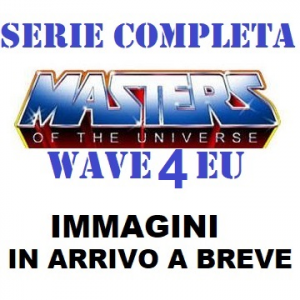 *PREORDER* Masters of the Universe ORIGINS Wave 4 EU: SERIE COMPLETA by Mattel 2021