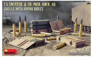 7.5cm PzGr. & Gr. KwK 40 Shells