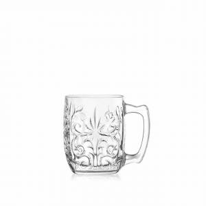 Set di 4 Boccali mule in vetro cristallino Tattoo cl 42