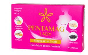 PENTAMAG LADY COMPRESSE 20 COMPRESSE 22G