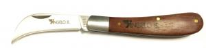Coltello per Carciofi Angelo Bergamasco - Lama in Acciaio Inox e manico in legno