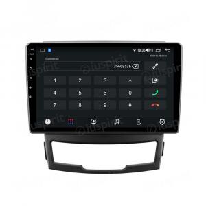 ANDROID autoradio navigatore per SsangYong Korando 3 2010-2013 CarPlay Android Auto GPS USB WI-FI Bluetooth 4G LTE