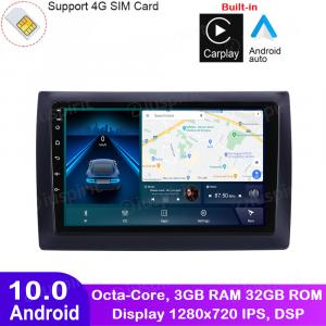 ANDROID autoradio navigatore per Fiat Stilo 2002-2010 CarPlay Android Auto GPS USB WI-FI Bluetooth 4G LTE