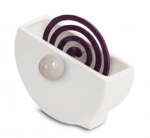 Z@nza bianco - porta zampirone in ceramica