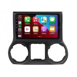 ANDROID autoradio navigatore per Jeep Wrangler 3 JK 2010-2018 CarPlay Android Auto GPS USB WI-FI Bluetooth 4G LTE