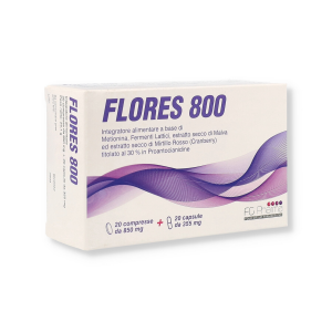 FLORES 800 20CPR+20 CPS