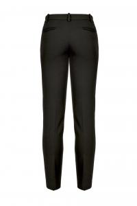 Pantalone Bello 110 cigarette-fit nero Pinko