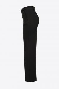 Pantalone Ghibli 6 punto stoffa nero Pinko