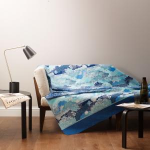 Bassetti Granfoulard MADAMA BUTTERFLY B1 Bezug für Möbel BLAU