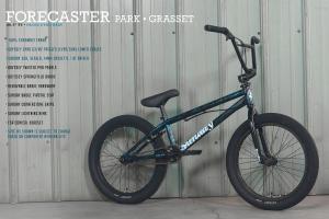 Sunday Forecaster Park 2022 Bici Bmx   Black/Blue