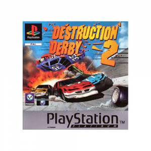 Destruction Derby 2 - platinum -usato - PLAYSTATION