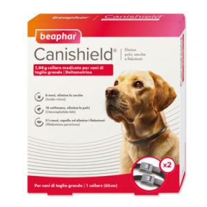 CANISHIELD L 65 cm (2 pezzi) – Collare antiparassitario per cani di grande taglia