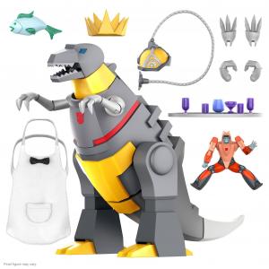 *PREORDER* Transformers Ultimates: GRIMLOCK (Dino Mode) by Super 7