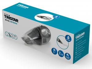 TRISTAR Aspirapolvere Mini a Batteria 7,2 Volt
