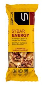 SYBAR ENERGY BARRETTA FRAGOLA/BANANA/COCCO