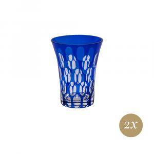 Set 6 bicchieri blu | Twins