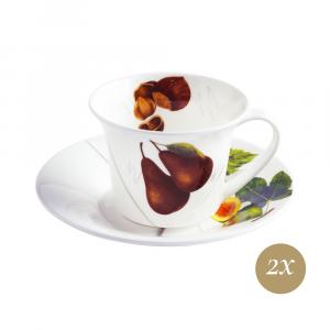 Set tè 4 pezzi in Giftbox GCV | Vegan | La Cucina Italiana